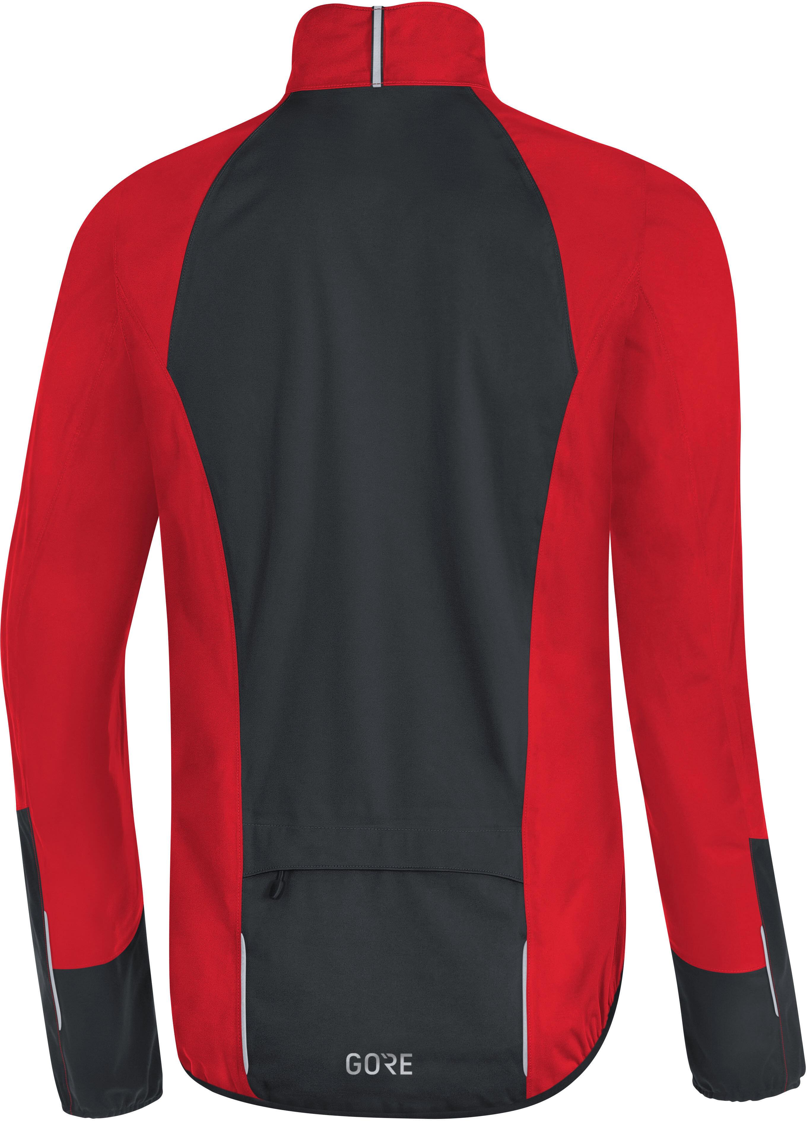 60f7ec3f9 GORE WEAR C5 Gore-Tex Active Sykkeljakke Herre red/black